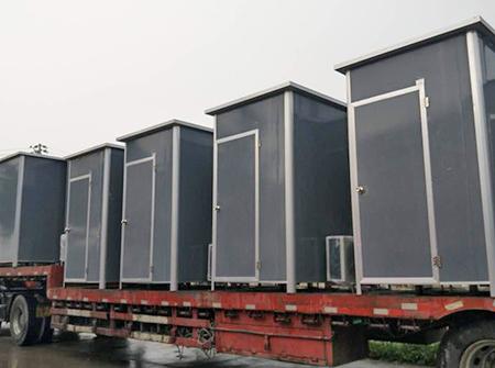 钢结构岗亭发货